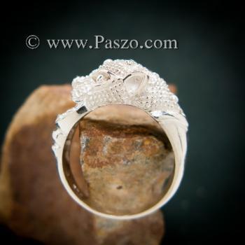 แหวนเสือ แหวนเงินแท้  #5
