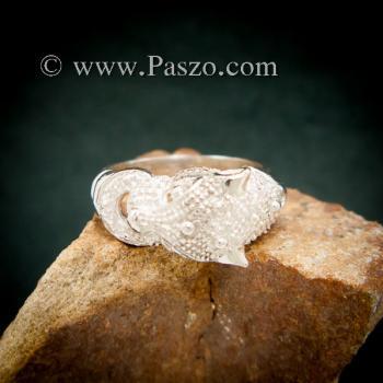 แหวนเสือ แหวนเงินแท้  #7
