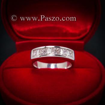 แหวนเพชร แหวนเงินแท้ เพชร #2