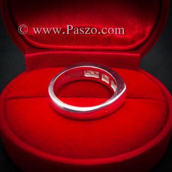 แหวนเพชร แหวนเงินแท้ เพชร #6