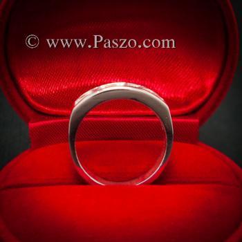 แหวนเพชร แหวนเงินแท้ เพชร #7