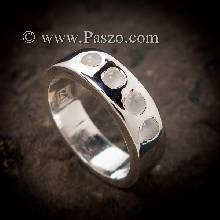 แหวนมูนสโตน แหวนเกลี้ยง