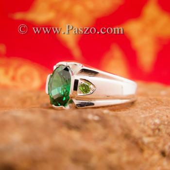 แหวนแห่งแสง แหวนมรกต แหวนพลอยสีเขียว #3