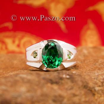 แหวนแห่งแสง แหวนมรกต แหวนพลอยสีเขียว #4