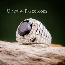 แหวนโรเล็กซ์ แหวนเงินผู้ชาย แหวนนิลผู้ชาย ล้อมเพชร แหวนผู้ชาย