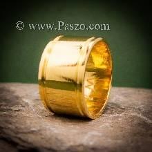 แหวนทองเกลี้ยง แหวนกว้าง12มิล แหวนทองแท้ แหวนเกลี้ยง