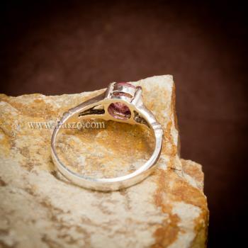แหวนทับทิม พลอยสีแดง 7เม็ด #4