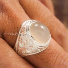 แหวนมุกดาหาร แหวนมูนสโตน แหวนผู้ชาย แหวนมอญ แกะลายไทย แหวนเงินแท้