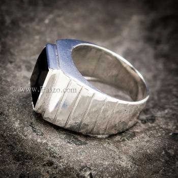 แหวนนิลแท้ แหวนผู้ชาย นิลแท้ #5