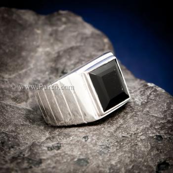 แหวนนิลแท้ แหวนผู้ชาย นิลแท้ #2