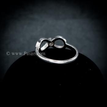 แหวนอินฟินิตี้ แหวนเพชร แหวนเงินแท้ #3