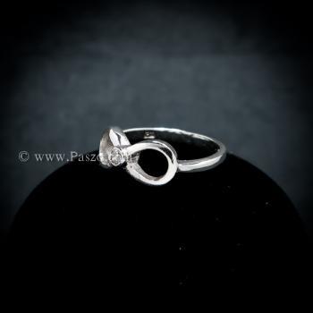 แหวนอินฟินิตี้ แหวนเพชร แหวนเงินแท้ #4