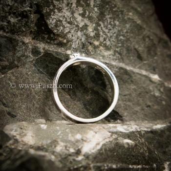 แหวนเพชร แหวนเงินแท้ เพชรสวิส #2