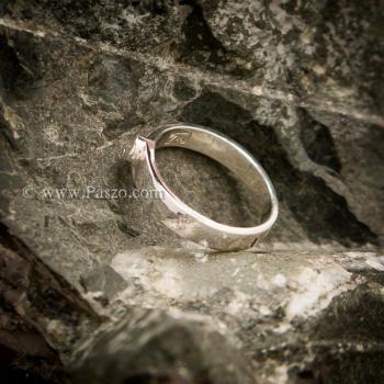 แหวนเพชร แหวนเงินแท้ เพชรสวิส #3
