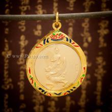 จี้พระราหูทรงครุฑ เหรียญพระราหูทรงครุฑ ลงยา เทวดาประจำวันเกิด เทพพระราหูทรงครุฑ