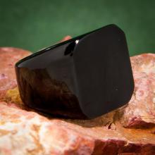 แหวนสี่เหลี่ยมหน้าเรียบ ชุบรมดำ แหวนผู้ชาย แหวนชุบรมดำ แหวนสแตนเลส แหวนทรงสี่เหลี่ยม แหวนเทห์ๆ