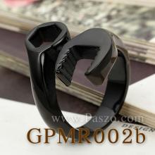 แหวนประแจ แหวนชุบรมดำ แหวนสแตนเลส แหวนเด็กช่าง แหวนประแจไขควง ชุบรมดำ แหวนเทห์ๆ