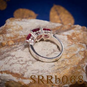 แหวนทับทิม แหวนหัวใจ พลอยสามเม็ด #4