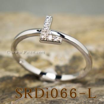 แหวนตัวแอล แหวนตัวอักษร L #4