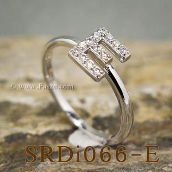 แหวนตัวอี แหวนตัวอักษร E #4
