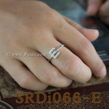 แหวนตัวอี แหวนตัวอักษร E #3