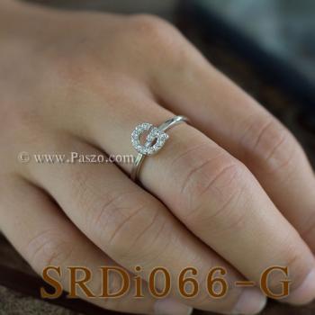 แหวนตัวจี แหวนตัวอักษร G #3