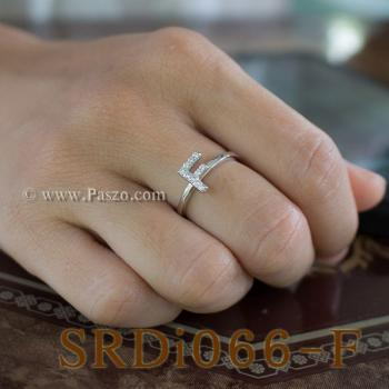 แหวนตัวเอฟ แหวนตัวอักษร F #3