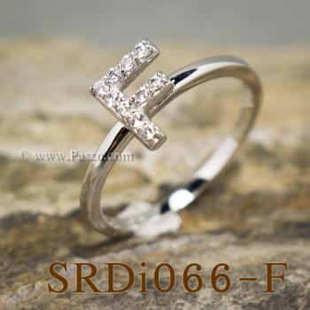 แหวนตัวเอฟ แหวนตัวอักษร F #2