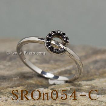 แหวนตัวอักษร แหวนตัวซี C #4