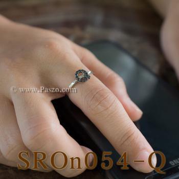 แหวนตัวอักษร แหวนตัวคิว Q #4