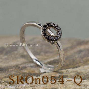 แหวนตัวอักษร แหวนตัวคิว Q #2