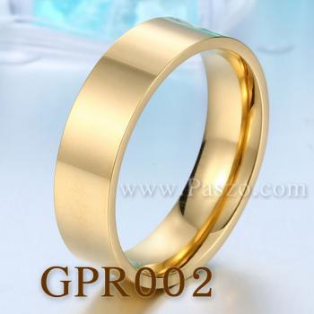 แหวนเกลี้ยง ชุบทอง หน้ากว้าง6มิล #4