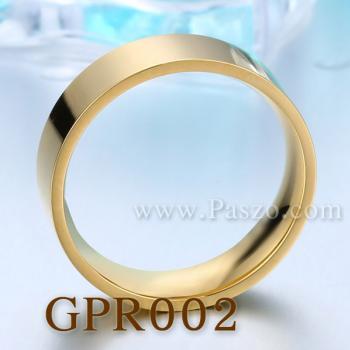 แหวนเกลี้ยง ชุบทอง หน้ากว้าง6มิล #5