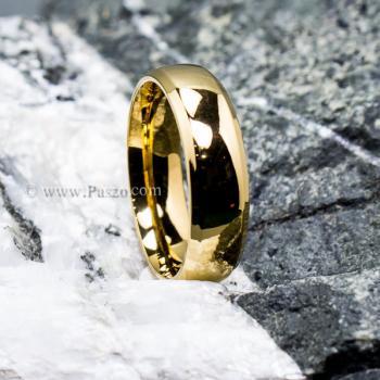 แหวนทองชุบ แหวนเกลี้ยง บ่าแหวนตะไบเฉียง #2