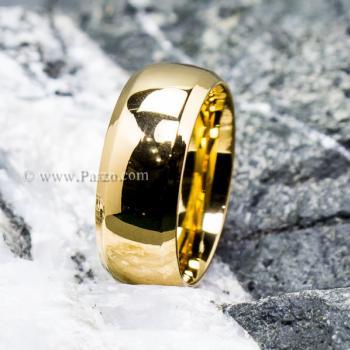 แหวนเกลี้ยง แหวนทองชุบ หน้ากว้าง8มิล #4