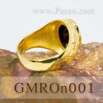 แหวนนิล แหวนทองผู้ชาย แหวนทอง #5