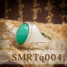 แหวนผู้ชาย แหวนเทอร์ควอยซ์ แหวนเงินแท้