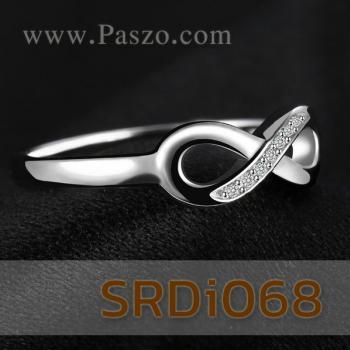 แหวนอินฟินิตี้ Infinity แหวนเพชร #4