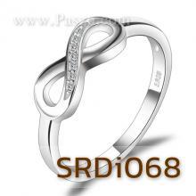 แหวนอินฟินิตี้ Infinity แหวนเพชร แหวนเงินแท้