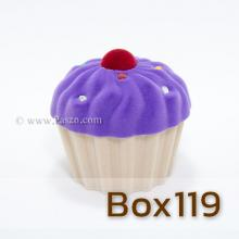 กล่องใส่แหวน คัพเค้ก กล่องกำมะหยี่ กล่องใส่จี้พร้อมสร้อยคอ กล่องใส่ต่างหู