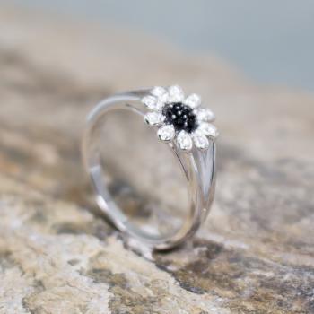 แหวนดอกเดซี่ แหวนดอกไม้ แหวนนิล #8