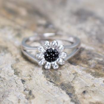 แหวนดอกเดซี่ แหวนดอกไม้ แหวนนิล #7