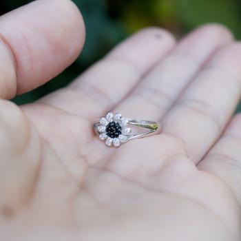 แหวนดอกเดซี่ แหวนดอกไม้ แหวนนิล #6