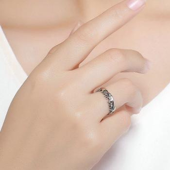 แหวนครอบครัวช้าง แหวนเงินแท้ แหวนช้าง #2