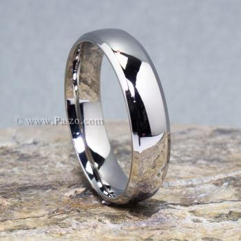 แหวนสแตนเลส แหวนเกลี้ยง หน้ากว้าง6มิล #2