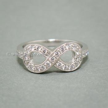 แหวนอินฟินิตี้ infinity แหวนเพชร #2