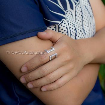 แหวนเพชร แหวนแฟชั่น แหวนเงินแท้ #3