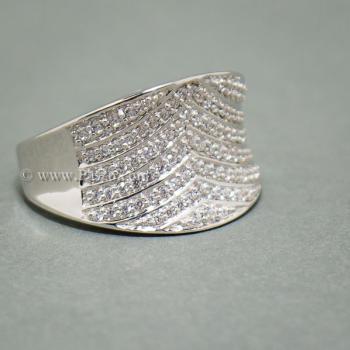 แหวนเพชร แหวนเงินแท้  #6