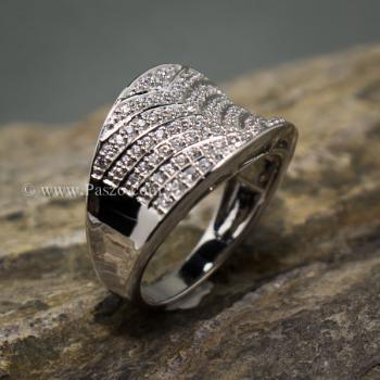 แหวนเพชร แหวนเงินแท้  #3