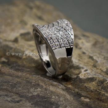 แหวนเพชร แหวนเงินแท้  #4